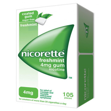 NICORETTE 105GOMME MAST4MGME